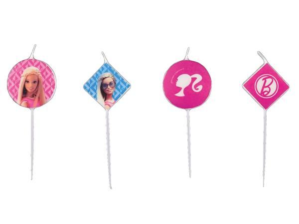 Bougies Anniversaire Barbie Pop Pour Deco De Gateau