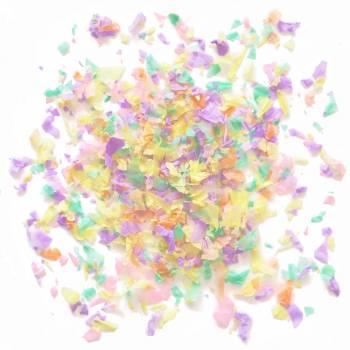 Confettis en papier pastel 20gr