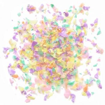 Confettis en papier pastel 50gr