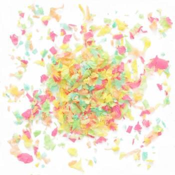 Confettis en papier colore 50gr