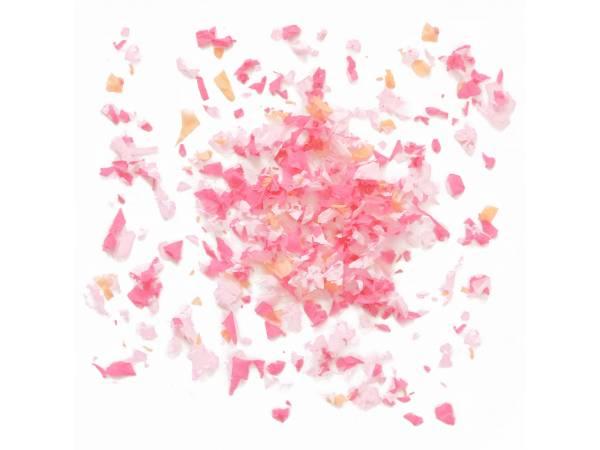 Confettis en papier rose 50gr