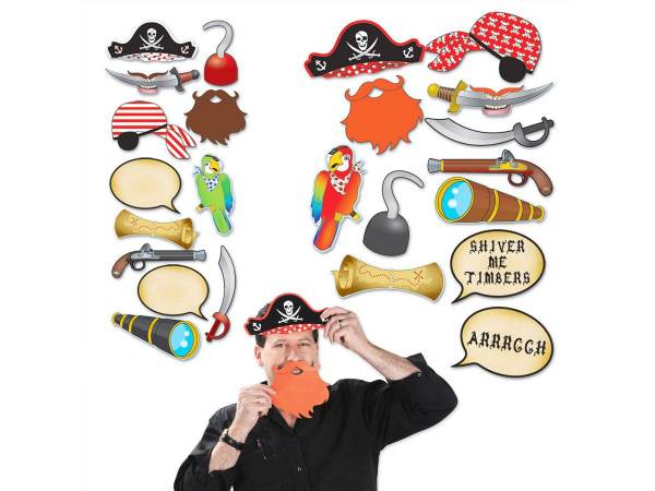 accessoires photobooth pirate deco anniversaire. Black Bedroom Furniture Sets. Home Design Ideas
