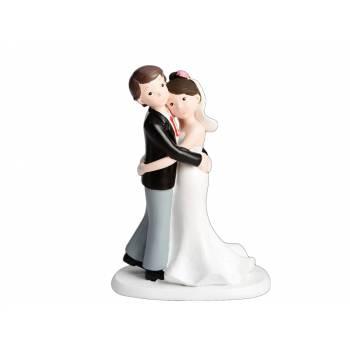 Figurine mariés Enlacé