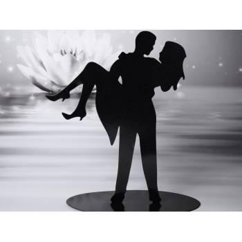 Figurine marié silhouette portée