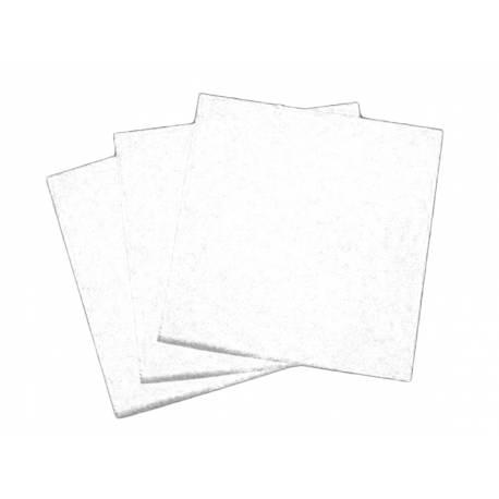 Paquetde 50 serviettes Dimensions: 40 cm x 40 cm L'intissée est une alternative au tissu. C'est une matière qui a un toucher velour...