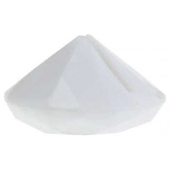 4 Marque-places diamant blanc