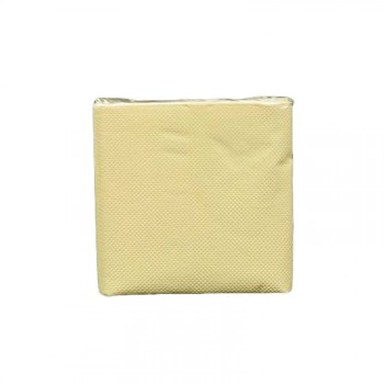 Serviettes cocktails jetables papier ivoire