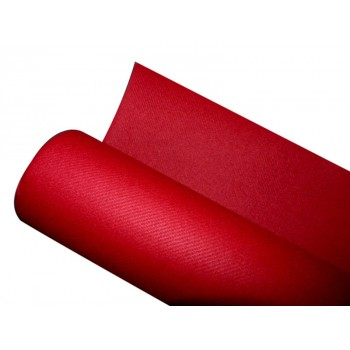 Nappe intissée rouge