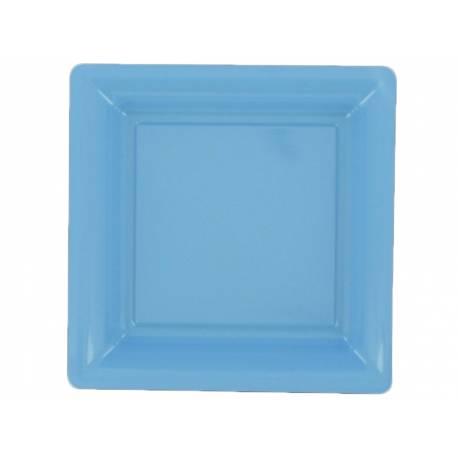 Matière plastique Paquet de 12 assiettes Dimensions: 23.5 cm