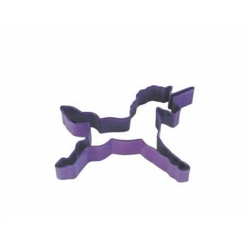 Emporte pièce Licorne violet
