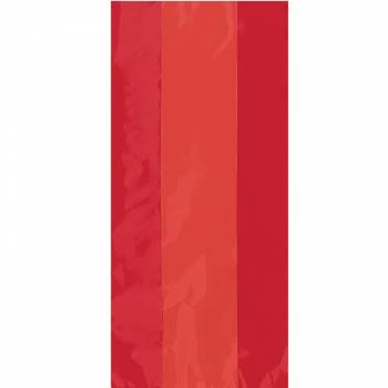 30 sachets à confiseries rouge