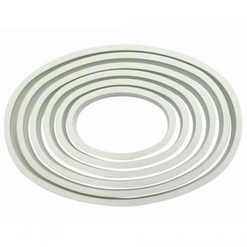 Set 6 emporte pièces oval PME