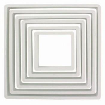 Kit 6 emporte pièces carrée