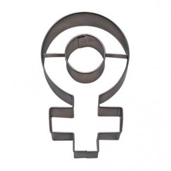 Emporte pièce signe féminin