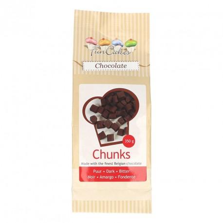 Pépites de chocolat noir FunCakes à base de morceaux de chocolat résistants à la cuisson. Elles peuvent donc être incorporées aux...