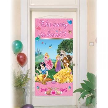 Déco de porte Princesses Disney