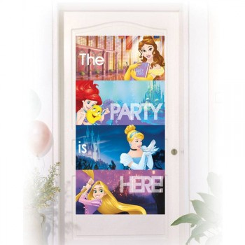 Décor de porte Princesses Disney