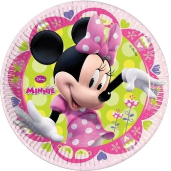 8 Assiettes Minnie bowtique