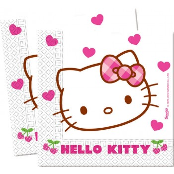 Serviettes Hello Kitty