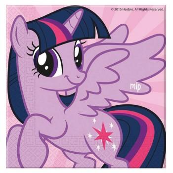 20 Serviettes Mon petit poney rainbow