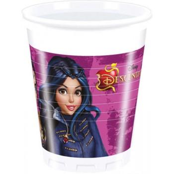 8 Gobelets Descendants Disney