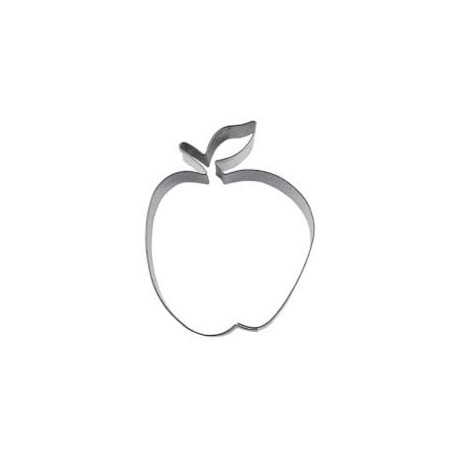 Emporte pièce inox pomme