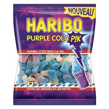 Bonbons Haribo Purple Cola pik 120gr