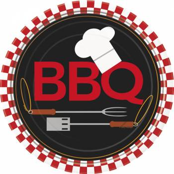 8 Assiettes BBQ grill