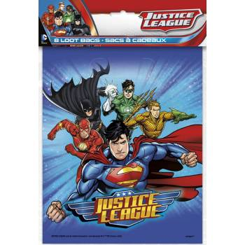 8 sachets Justice league