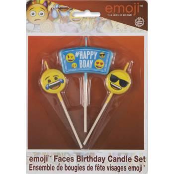 3 Bougies pics Emoji