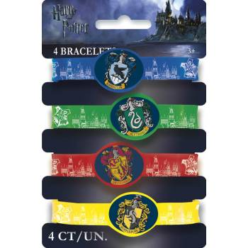 4 Bracelets ecole Harry potter