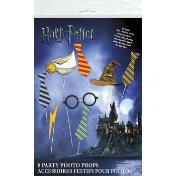 8 accessoires photobooth Harry potter