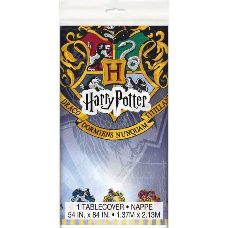 Nappe Harry Potter pour la décoration de l'anniversaire de votre enfant sur le thème Harry Potter. Dimensions: 140cm x 213cm