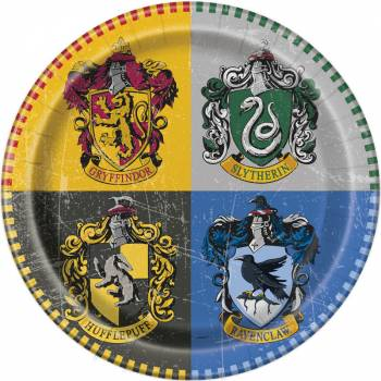 8 Assiettes Harry potter