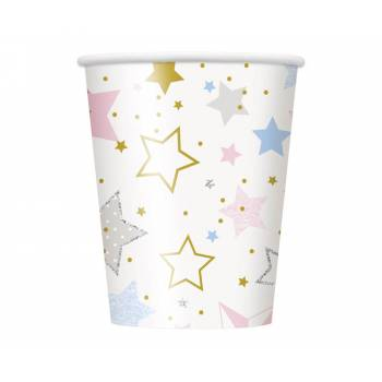8 gobelets Twinkle little star