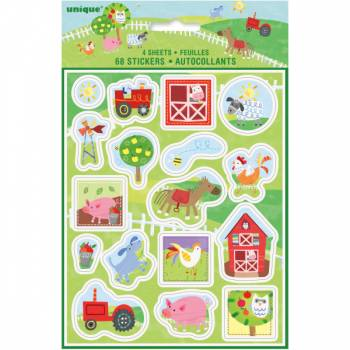 Stickers Farmer Party