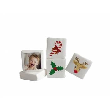 Guimize personnalisé photo décor Joyeux Noël