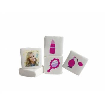 48 Guimize carrés personnalisés photo décor Girly