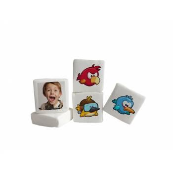 Guimize personnalisé photo décor Angry Birds
