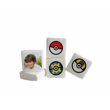 Guimize personnalisé photo décor Pokeball