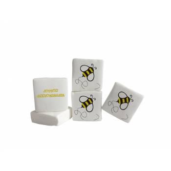Guimize personnalisé texte decor abeilles
