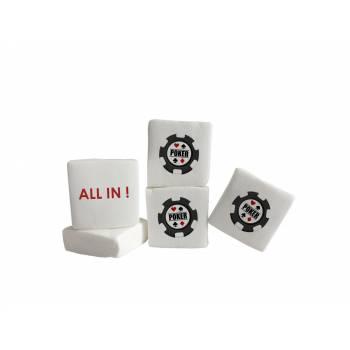Guimize personnalisé texte décor Poker