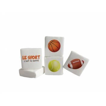 Guimize personnalisé texte décor Sport