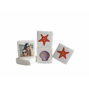 Guimize personnalisé photo décor coquillages