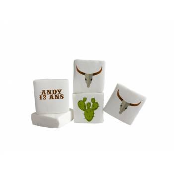 Guimize personnalisé texte décor Cactus
