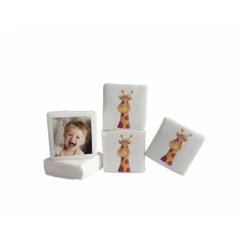48 Guimize carrés personnalisés photo décor Girafe