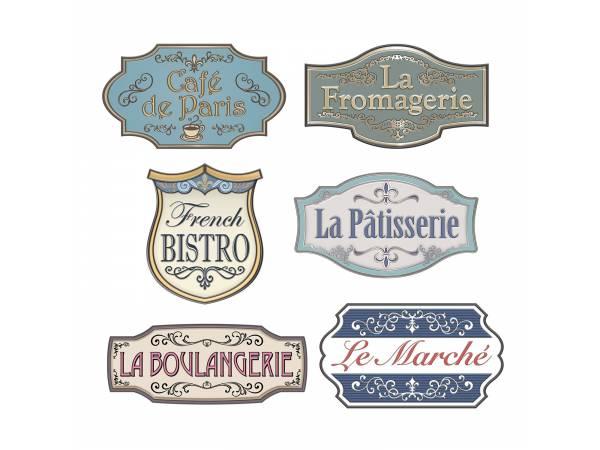 Pancartes enseignes française