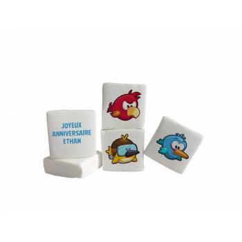 Guimize personnalisé texte décor Angry Birds