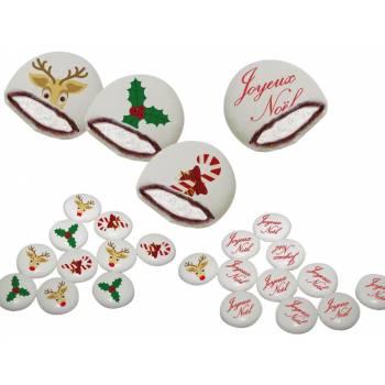 Chamachoc personnalisé decor joyeux Noël texte