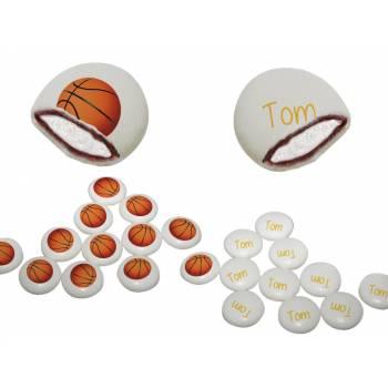 Chamachoc personnalisé decor basket texte